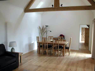 Dining Room on It Has A Light Oak Dining Table Which Comfortably Seats Six People  A